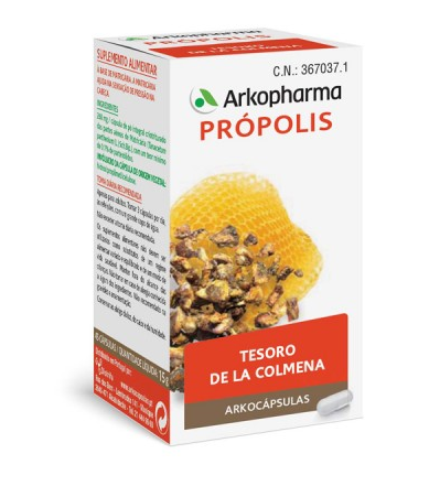 Arkocapsulas Propolis 84 Capsulas
