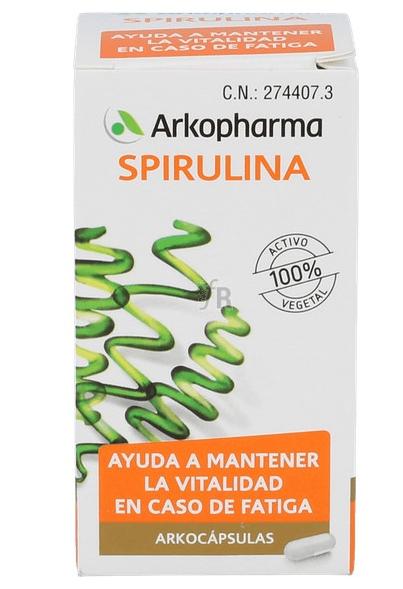 Arkocapsulas Spirulina 48 Arkocaps