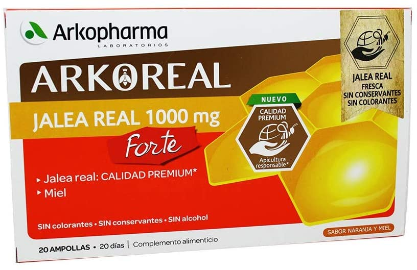 Arkoreal Jalea Real Forte 1000 mg 20 Ampollas