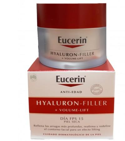 Eucerin Hyaluron Filler Volume Lift Crema Piel Seca 50 ml