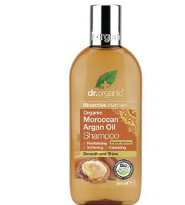 Dr Organic Champu Aceite Argan Marroqui 265ml