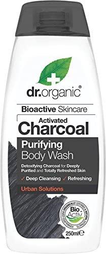 Dr Organic Gel Ducha Baño Carbon Activado 250 ml