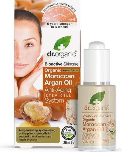 Dr Organic Sistema Antiedad Celulas Madre Aceite Argan 30 ml