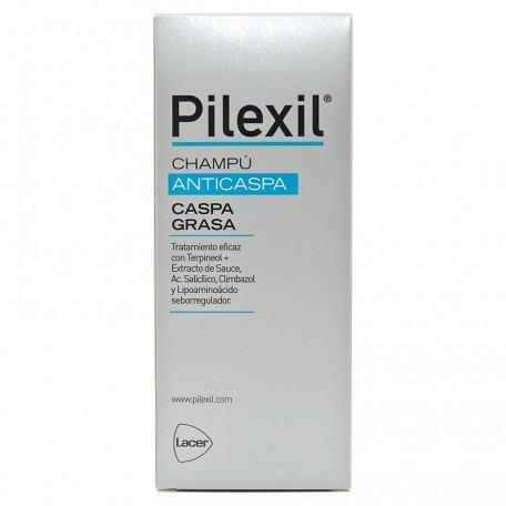 Pilexil Champu Anticaspa Caspa Grasa 300 ml