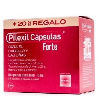 Pilexil Forte 100 Capsulas Regalo 20 capsulas