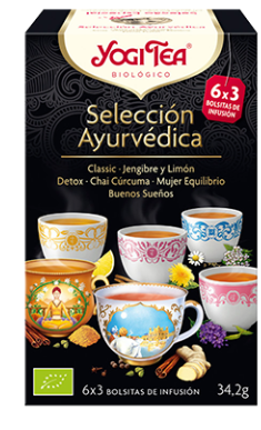 Yogi Tea Seleccion ayurvedica 18 Bolsitas