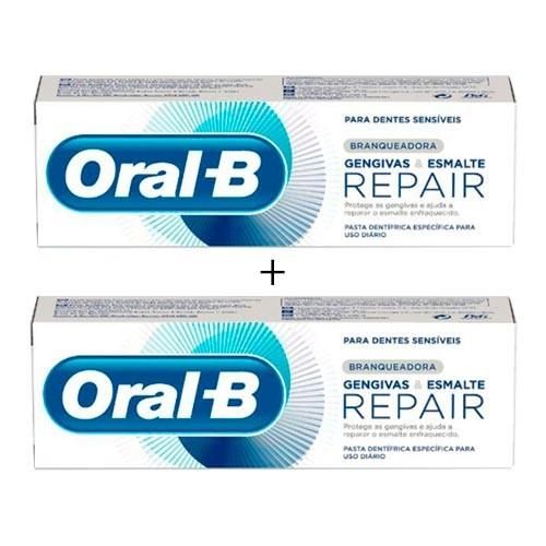 Oral B Encias Y Esmalte Blanqueante 100ml Duplo Promocion