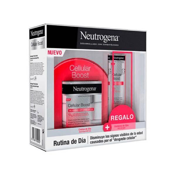 Neutrogena Cellular Boost Crema Día 50ml + Regalo Contorno Ojos 15ml
