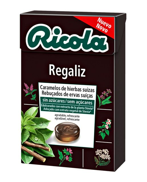Ricola Caramelos Regaliz Caja 50g