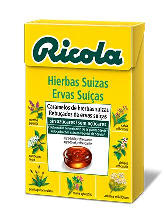 Ricola Caramelo Hierbas Suizas Caja 50g