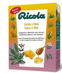Ricola Caramelos Salvia Miel Caja 50g
