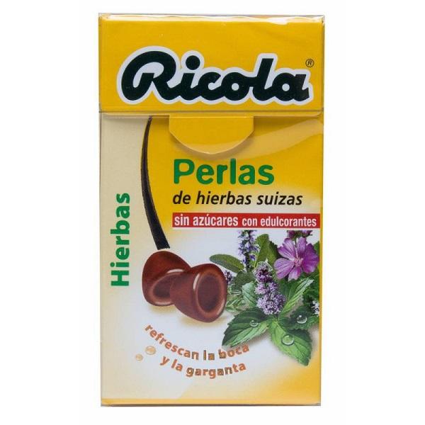 Ricola Perlas Hierbas Suizas 25 g