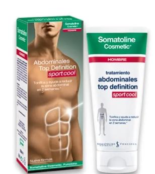 Somatoline Cosmetic Hombre Abdominales Top Definition Duplo 400 ml