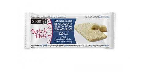 Siken Form Snack Galleta Chocolate Blanco 22g