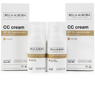 Bella Aurora Protect Crema color Spf50 30 ml