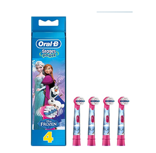Recambios Oral B Frozen 4 Unidades