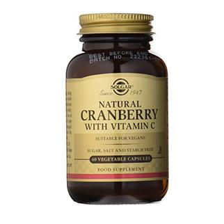 Solgar Arandano Rojo Vitamina C 60 Capsulas