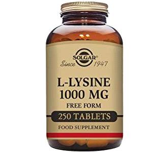 Solgar L-Lisina 1000mg 250 Capsulas
