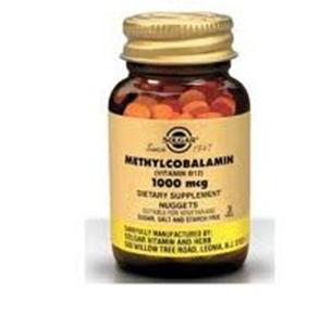 Solgar Metilcobalamina 1000mg 30 Comprimidos