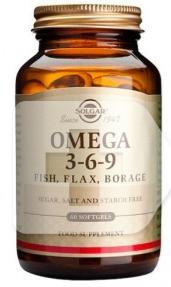 Solgar Omega 3-6-9 120 Capsulas