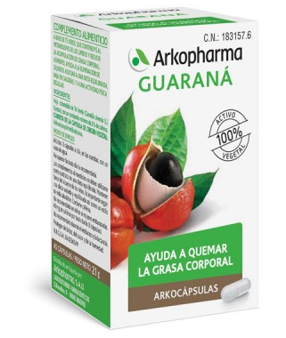 Arkocapsulas Guarana 40 Capsulas Bio