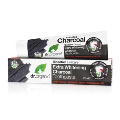 Dr Organic Pasta Dental Carbon Activado 100 ml