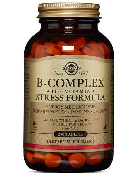 Solgar B Complex Vitamina C 250 Comprimidos