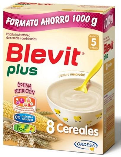 Blevit 8 Cereales 1000 g Formato Ahorro