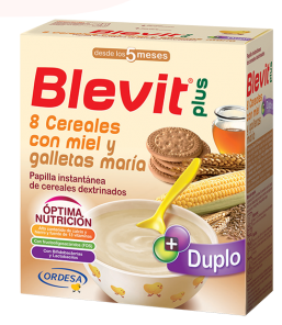 Blevit 8 Cereales Galleta Maria 600 g