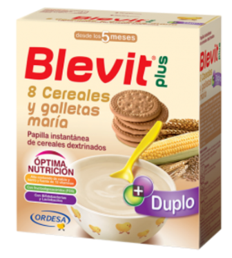 Blevit 8 Cereales Miel Galleta 600 g