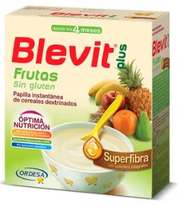 Blevit Superfibra Frutas Sin gluten 600 g