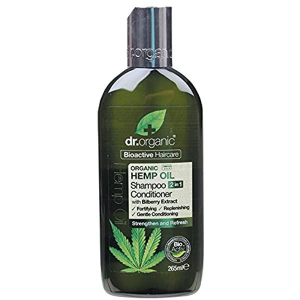 Dr Organic Champu Acondicionador Aceite de Cañamo 265 ml
