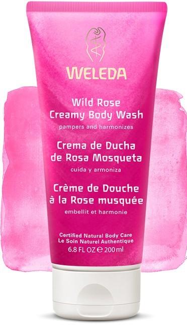 Weleda Crema de Ducha Rosa Mosqueta 200 ml