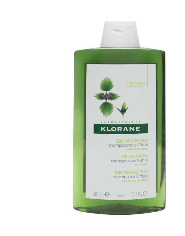 Klorane Champú Ortiga Seborregulador 400 ml