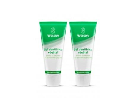 Weleda Gel Dentifrico Vegetal 75ml+75ml Duplo Promocion
